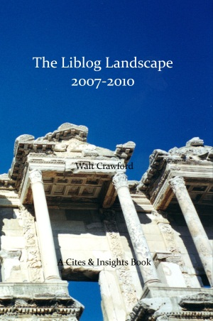 The Liblog Landscape 2007-2010